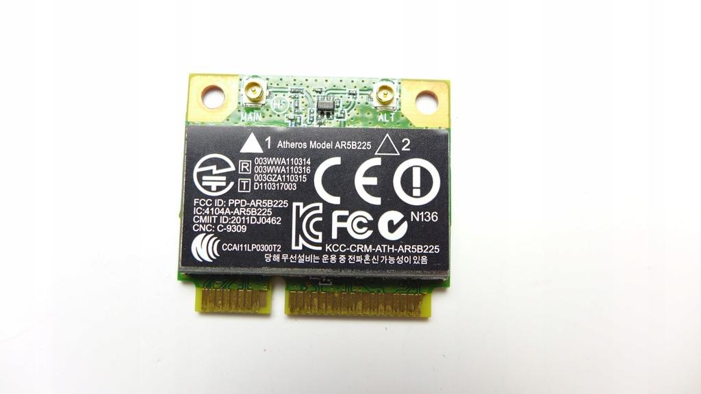 KARTA WIFI AR5B225 HP MINI 200 210 4000 FV L18
