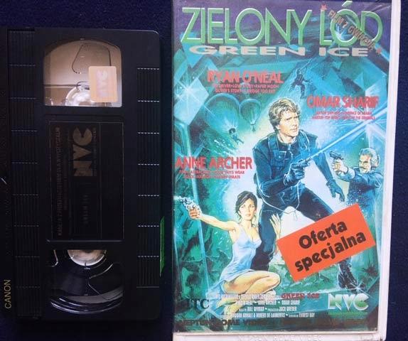 ZIELONY LÓD 1981 VHS KASETA VIDEO RARYTAS