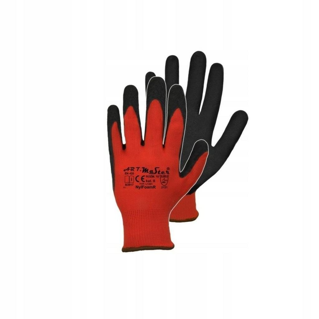 Rękawice robocze ochronne master 9