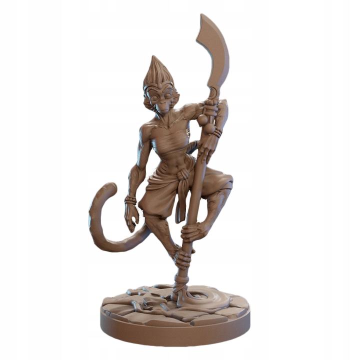 Figurka DTL Mali - małpi mnich RPG