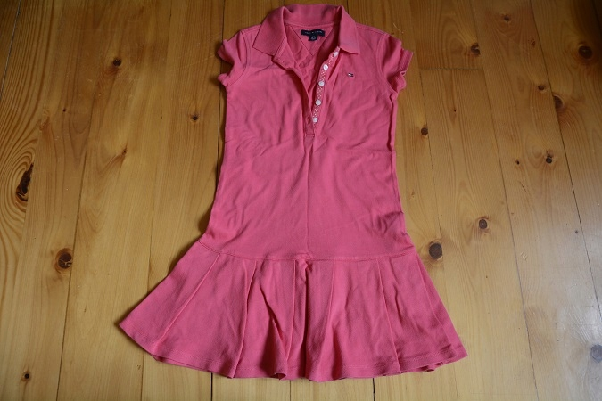 Sukienka Tommy Hilfiger 6-8 lat oryginał