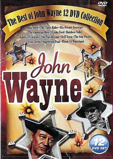 12 DVD The best John Wayne collection po angielsku