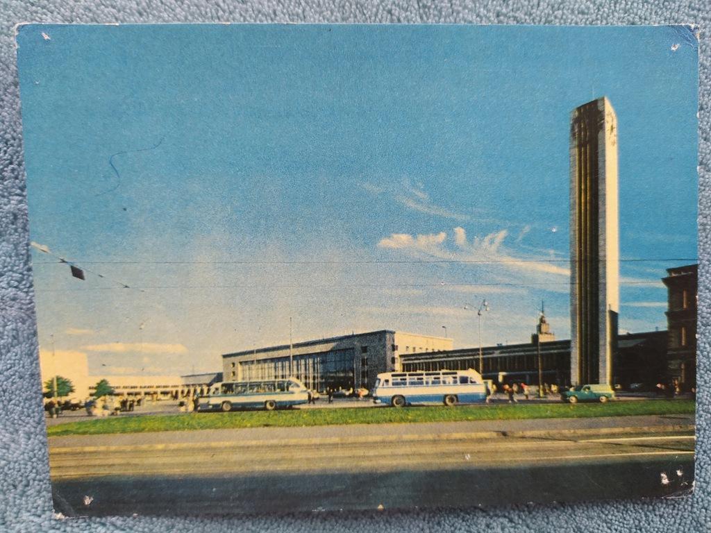 pocztówka Ryga (Riga) Łotwa pamiątka PRL