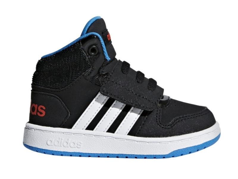 25,5 Buty Adidas Hoops B75965 Na Rzepy Dziecięce