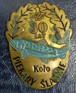 Odznaka wędkarska PZW 30 Piekary Śląskie