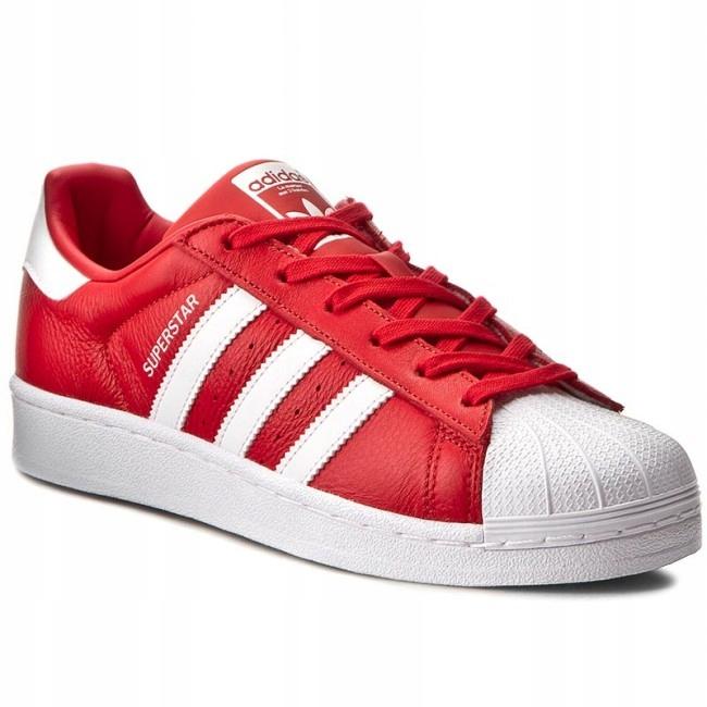 adidas superstar czerwone