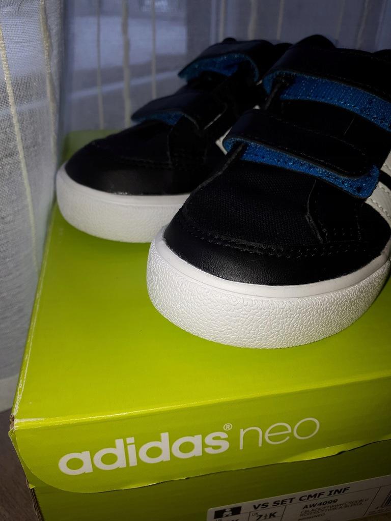 Nowe buty chłopięce ADIDAS rozmiar 25 7821644288