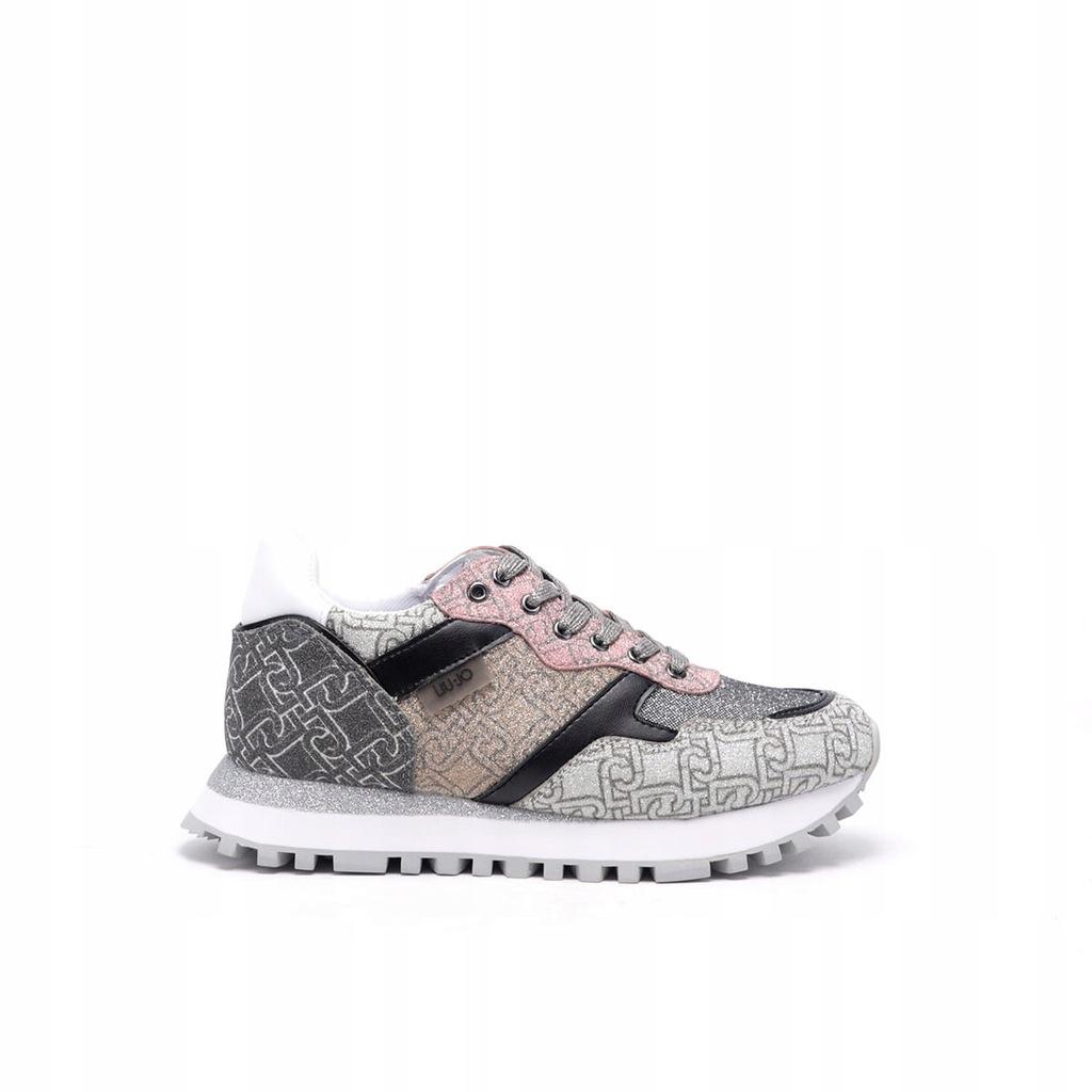 Damskie sneakersy multikolor LIU JO HH2L3028 - 37