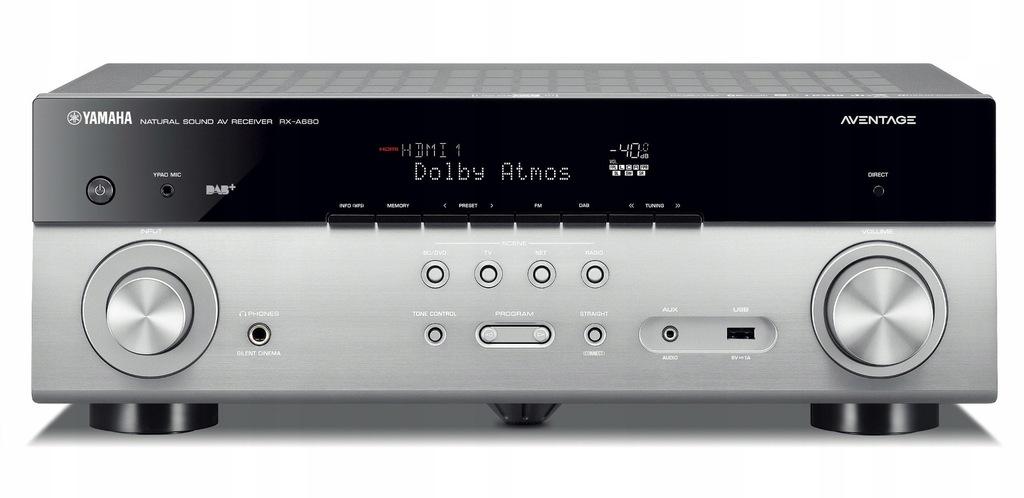 Amplituner YAMAHA RX-A680 MusicCast Tidal DAB+