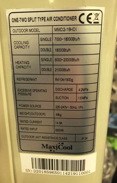 Obudowa dla Maxicool mmd-18hdi