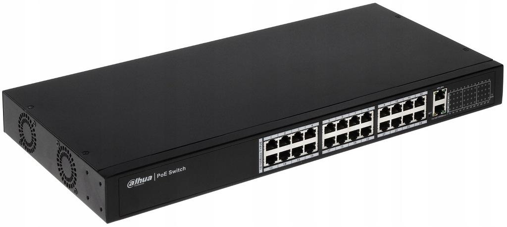 Switch PoE PFS4026-24P-370 24-PORTOWY DAHUA
