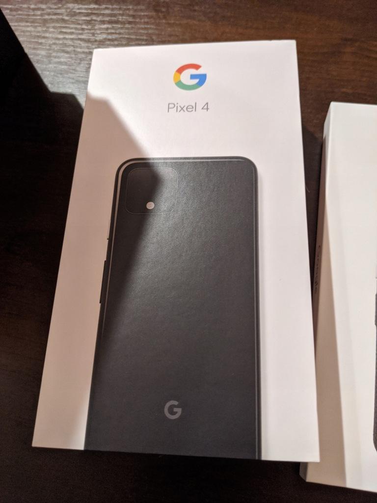 Nowy! Google Pixel 4 czarny 64 GB