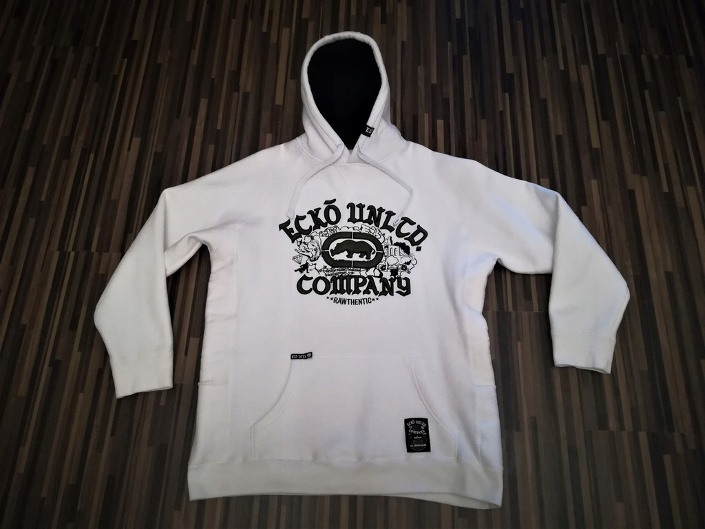 Bluza ECKO UNLTD.Gangsta EDITION White !!Rozm.XL
