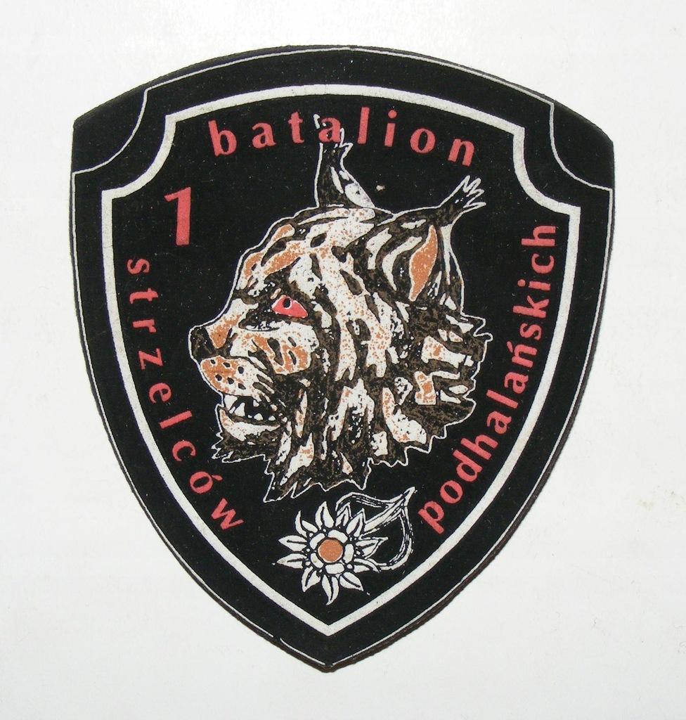 WP 1 BATALION STRZELCÓW PODHALAŃSKICH SITO #1 1997