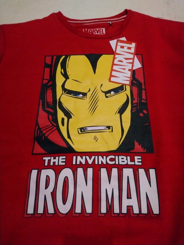 Bluza Iron Man Marvel