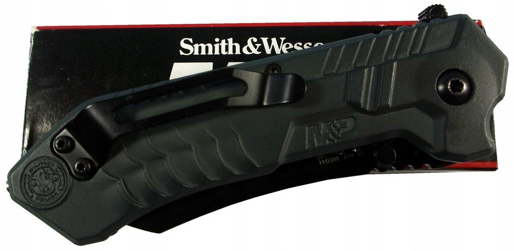 Smith & Wesson SWM2BS nóż składany