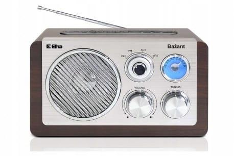 Eltra Radio BAŻANT USB kolor ciemny