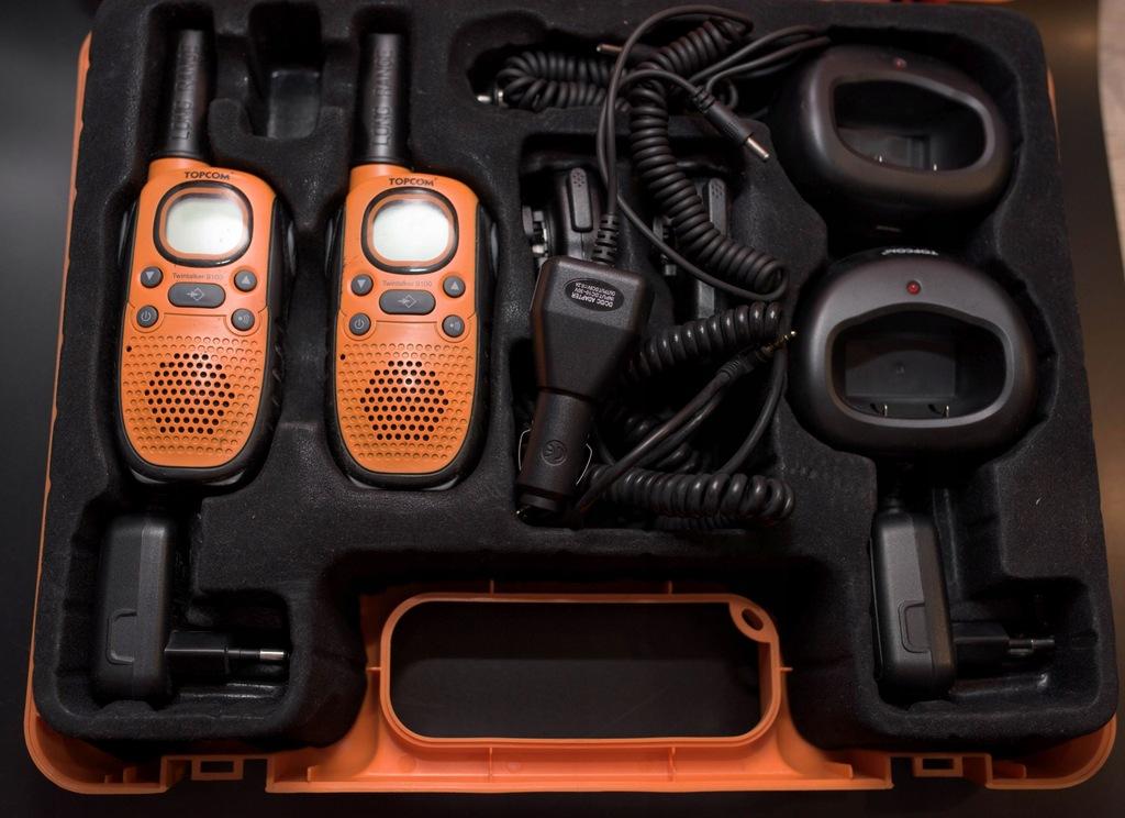 Topcom Twintalker 9100 - zestaw!