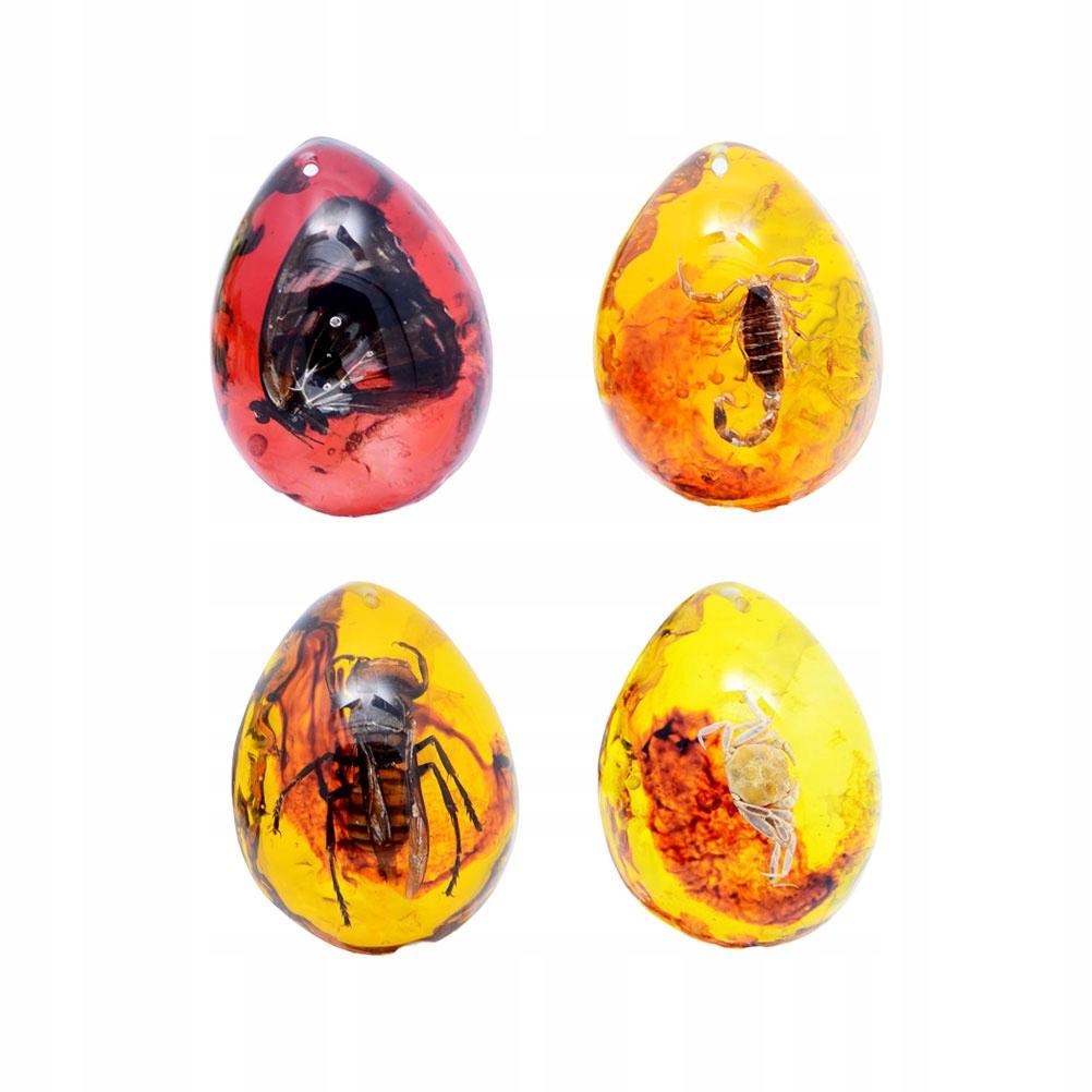 4 sztuk DIY prawdziwy owad wosk pszczeli wisiorek