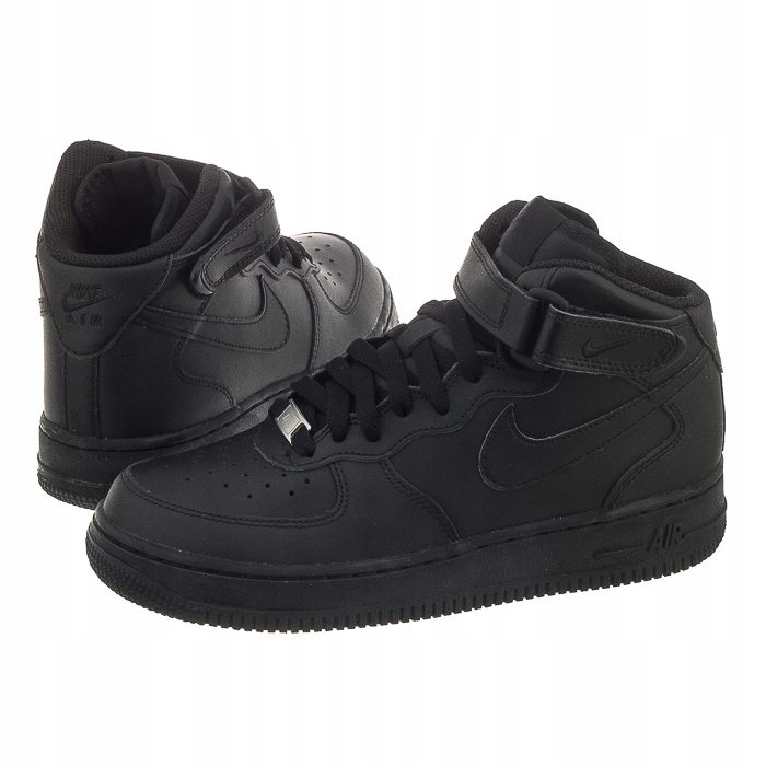 Buty sportowe damskie Nike Air Force 1 Mid GS (314195 004)