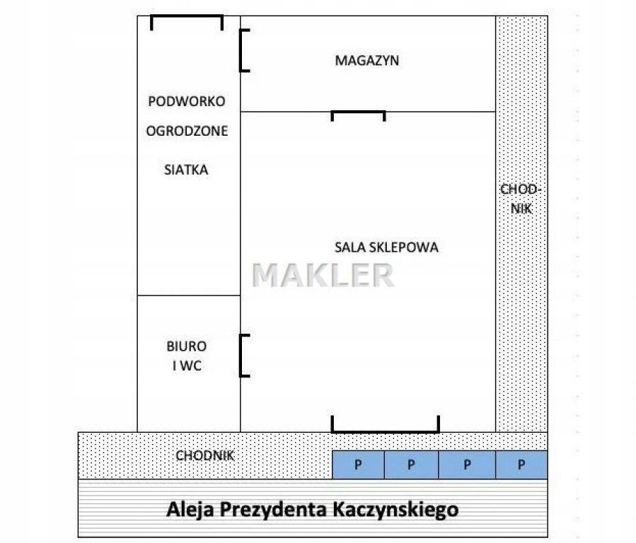 Komercyjne, Bydgoszcz, Kapuściska, 90 m²