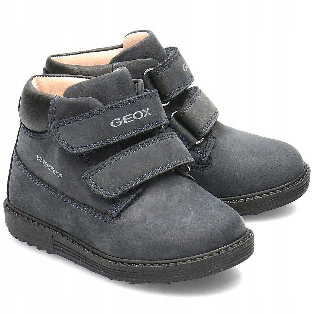 Geox Baby Hynde Trzewiki Dziecięce Granatowe R.25