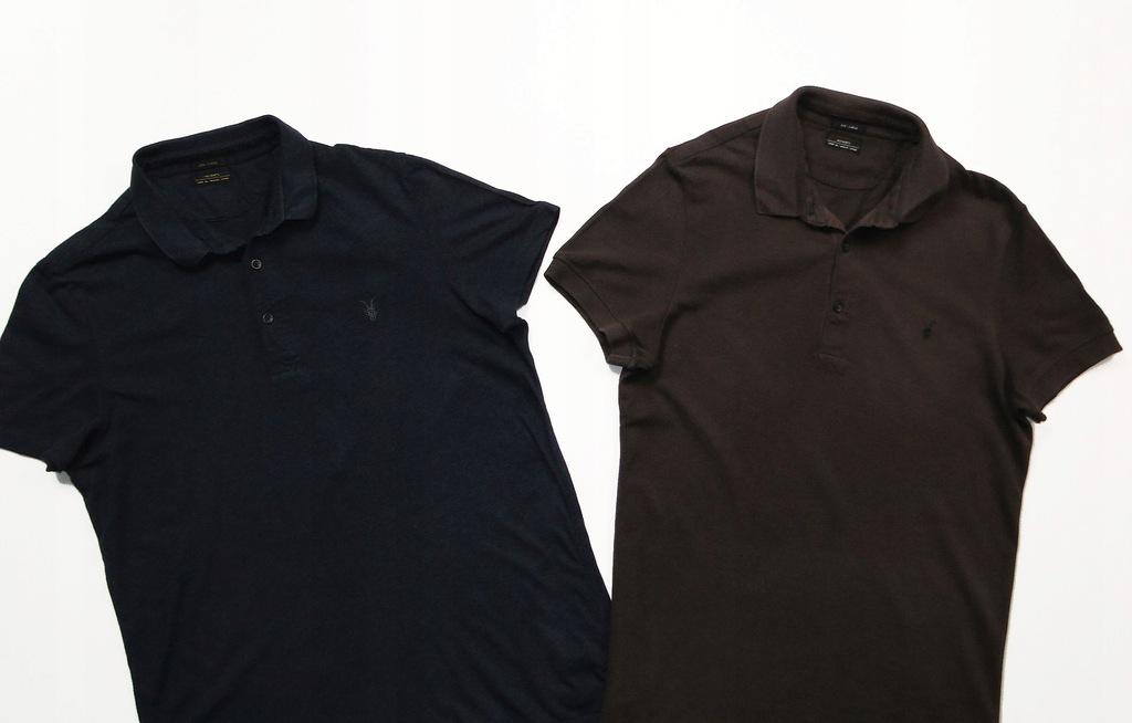 Koszulka ALL SAINTS Polo / x 2 SZTUKI / Zestaw