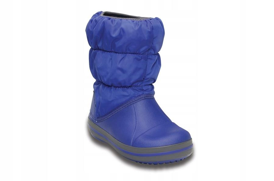 Buty Crocs Winter Puff Boot 14613 CERULEAN BLUE 26