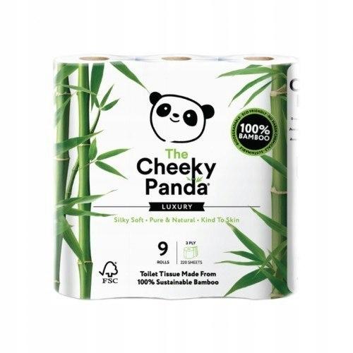 THE CHEEKY PANDA 100% Bambusowy Papier toaletowy t