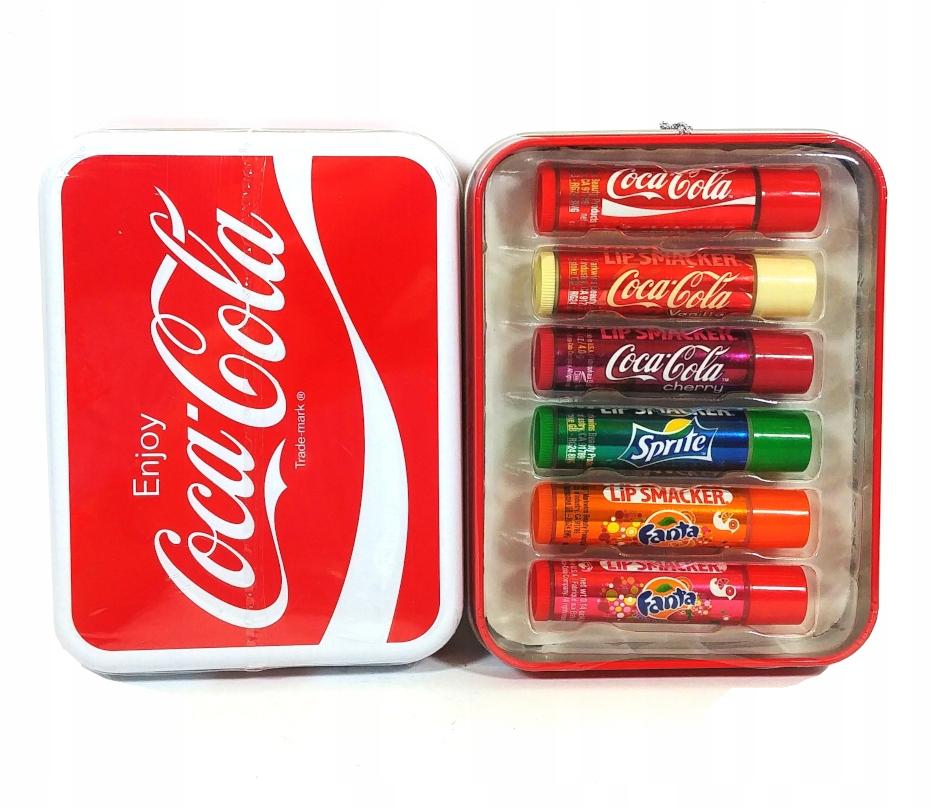 Lip Smacker Coca Cola Fanta Sprite Zestaw Pomadek 8755954740 Oficjalne Archiwum Allegro