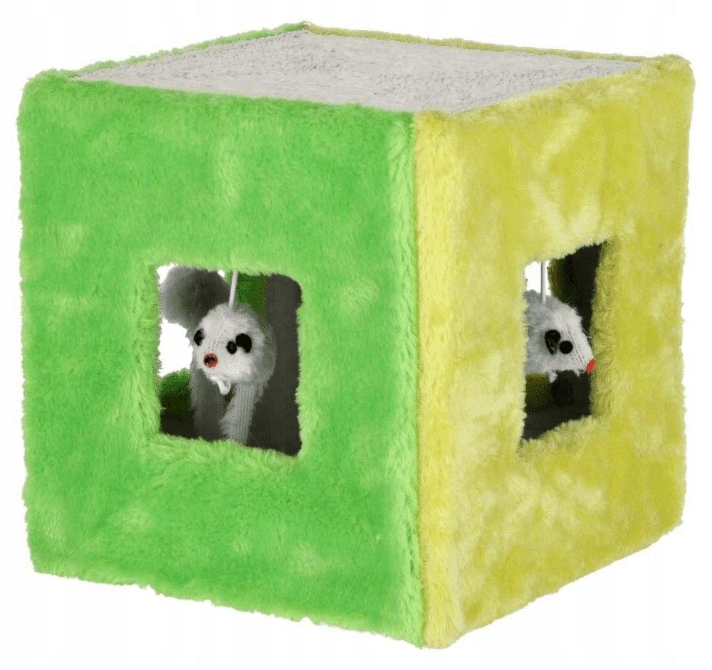 KERBL Zabawka sizalowa kostka, 20 x 20 x 20 cm [81