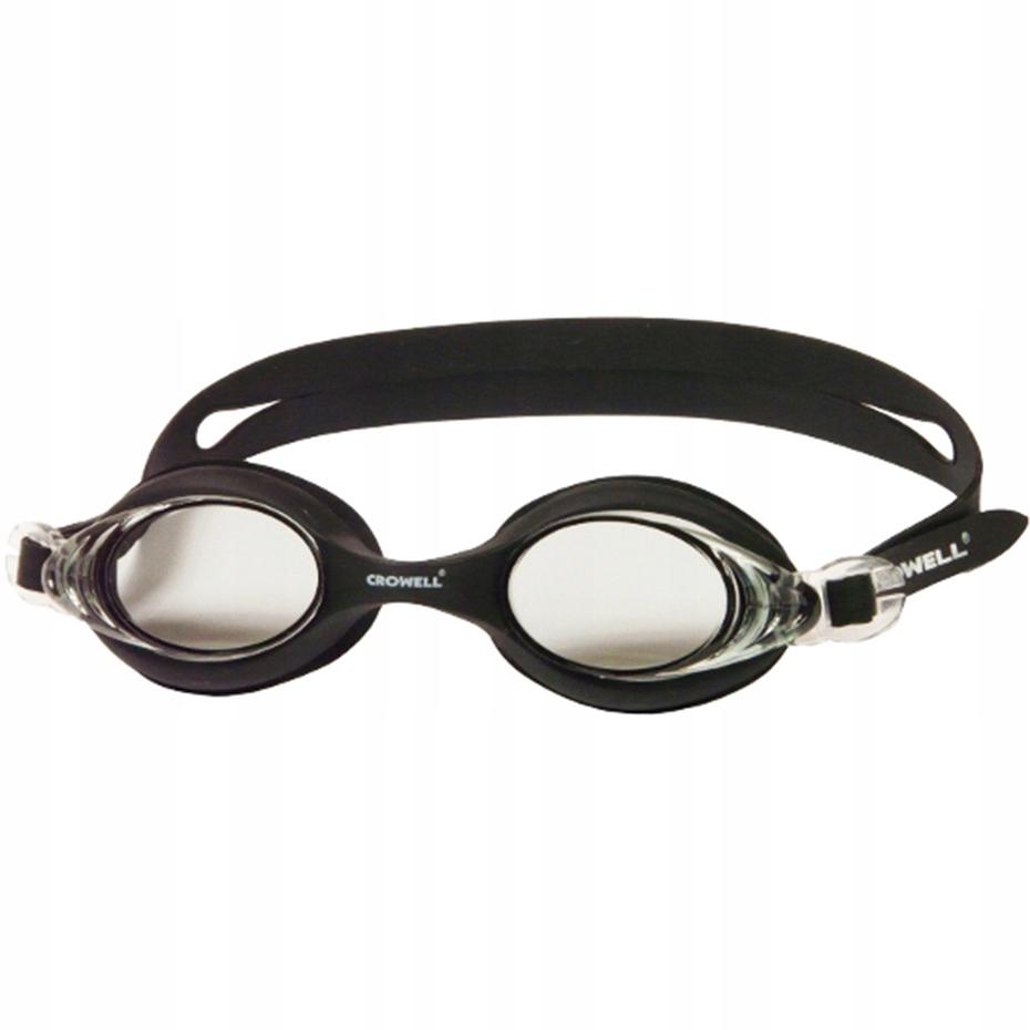 Okulary pływackie Crowell 2548 czarne