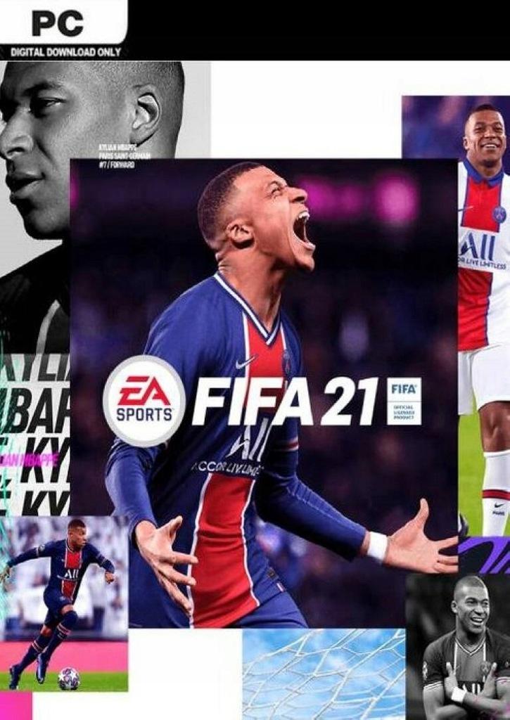FIFA 21 PC ORIGIN KLUCZ KOD POLSKA WERSJA