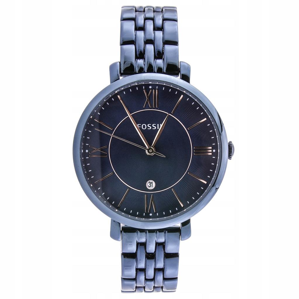 Zegarek FOSSIL ES4094 damski granatowy datownik