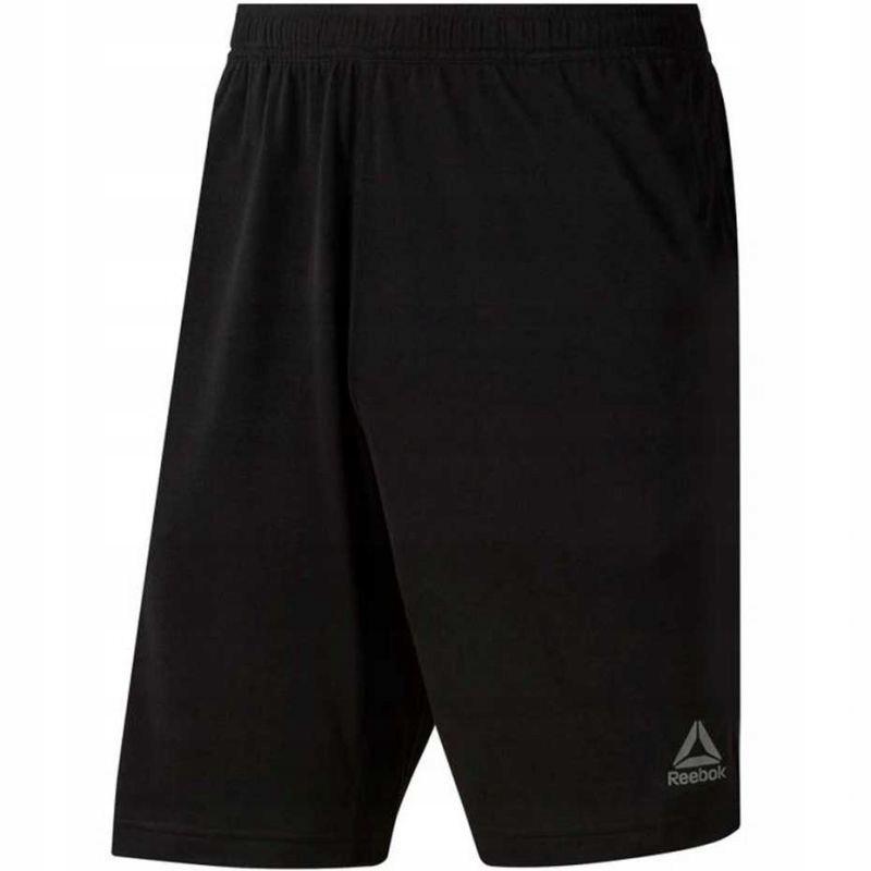 Spodenki Reebok TE Jersey Short czarne M