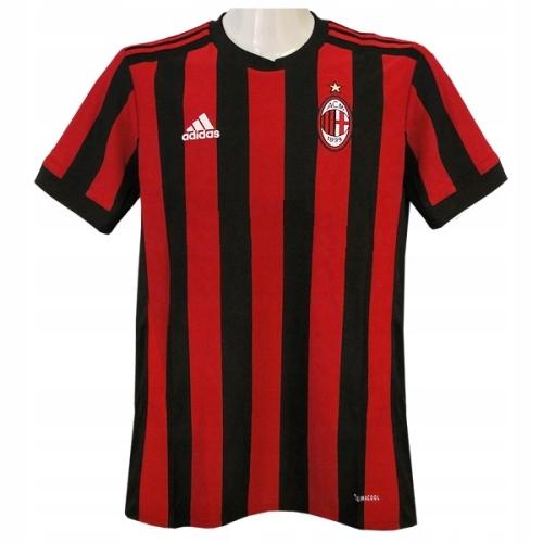AC Milan-koszulka Adidas 176 cm(bez logo sponsora)