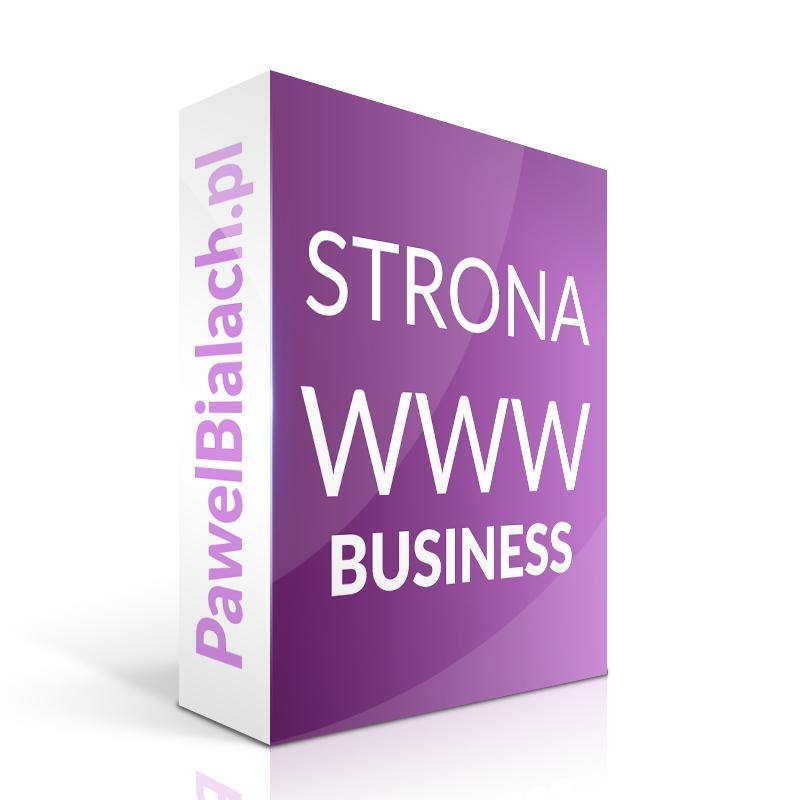 Strona internetowa WWW Tworzenie stron BUSINESS