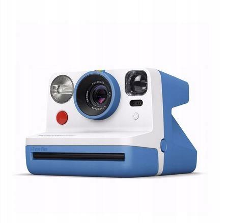 Aparat natychmiastowy Polaroid Now niebieski