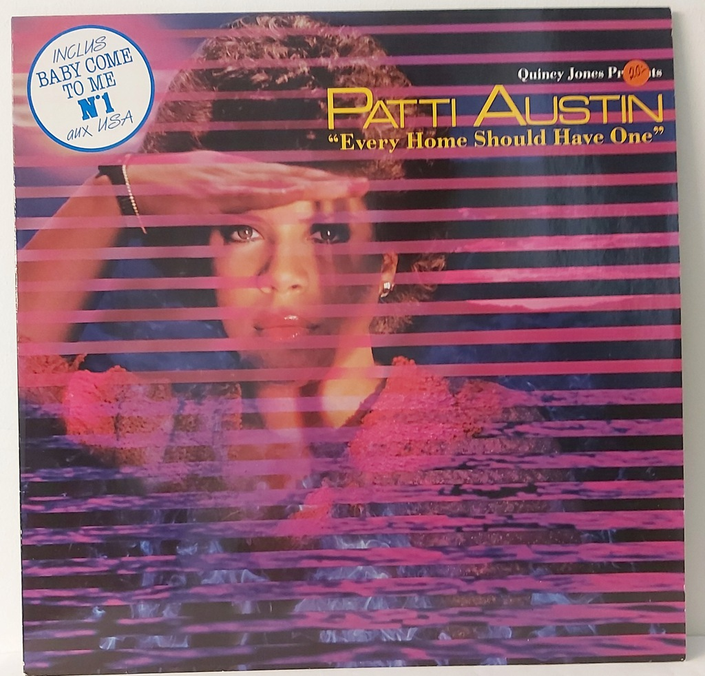 Patti Austin-Quincy Jones Presents 12'' WINYL
