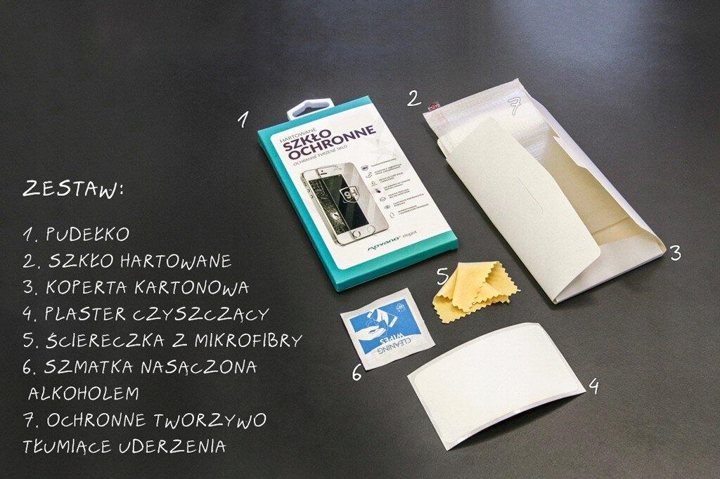 MOCNE Szkło hartowane ELEGANT do HTC One E8