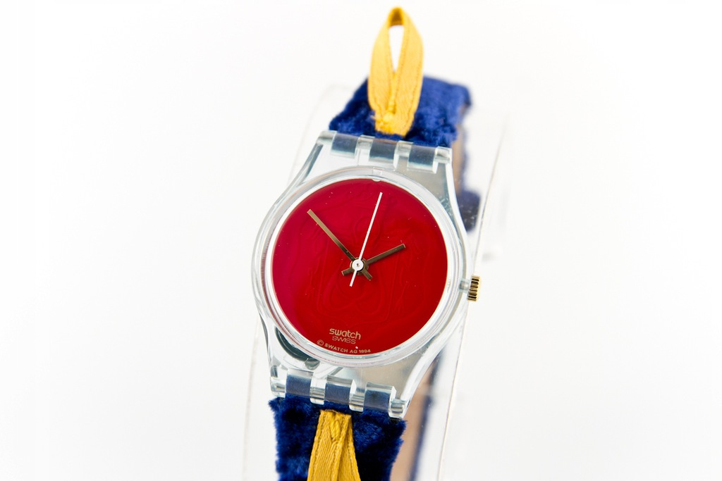 Zegarek unisex Swatch CORD ON BLEU LG114 kolorowy
