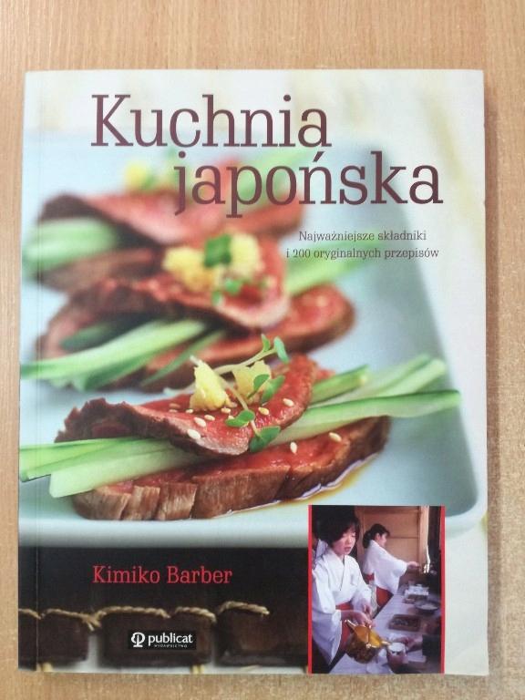 Kuchnia Japonska Kimiko Barber Unikat Nowa 7789287205 Oficjalne Archiwum Allegro