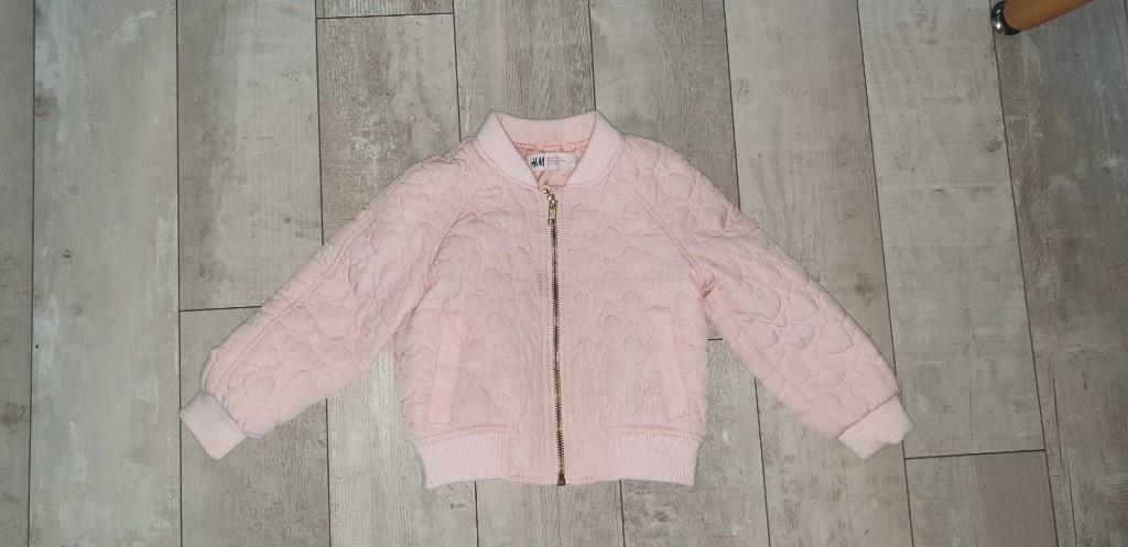 bomberka kurtka jesienna pikowana H&M