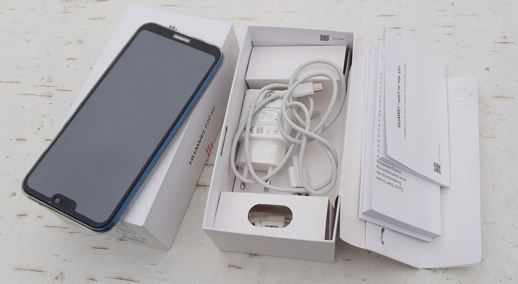 Smartfon Huawei P20 Lite 4/64GB niebieski