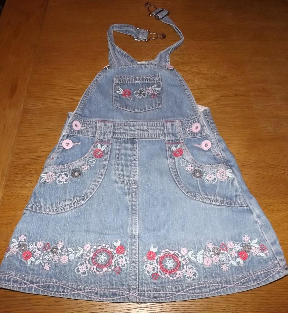 TU Spódnica jeansowa dla 2-3 latki