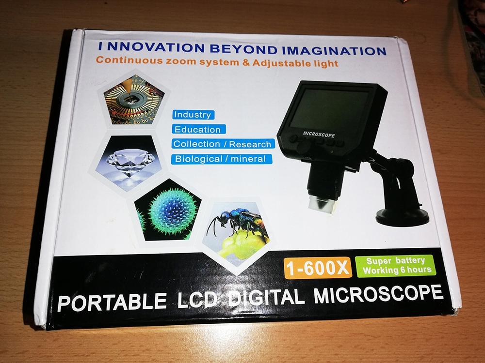 Mikrosop cyfrowy 600x LCD 1080