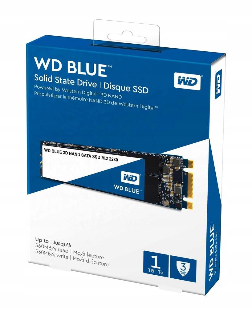 Dysk Western Digital Blue M.2 1TB SATA 3