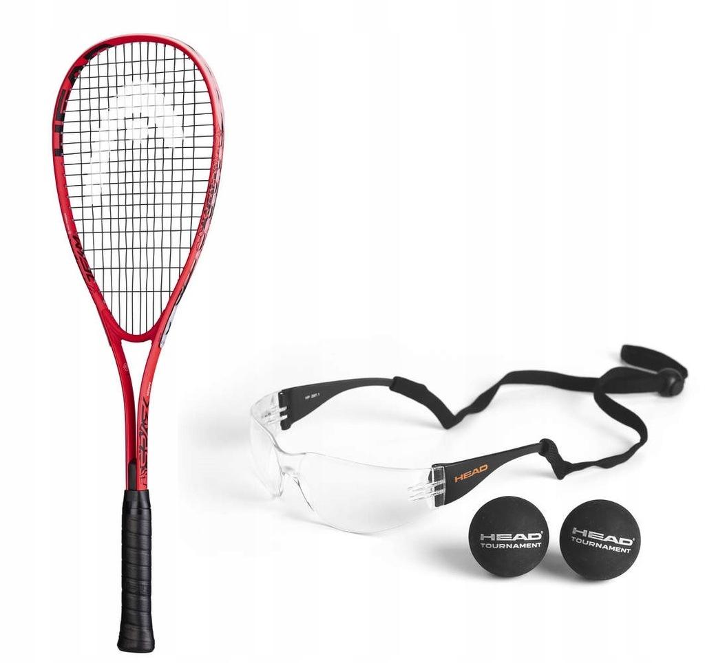 Rakieta Head Spark Team Pack + okulary + 2 piłki
