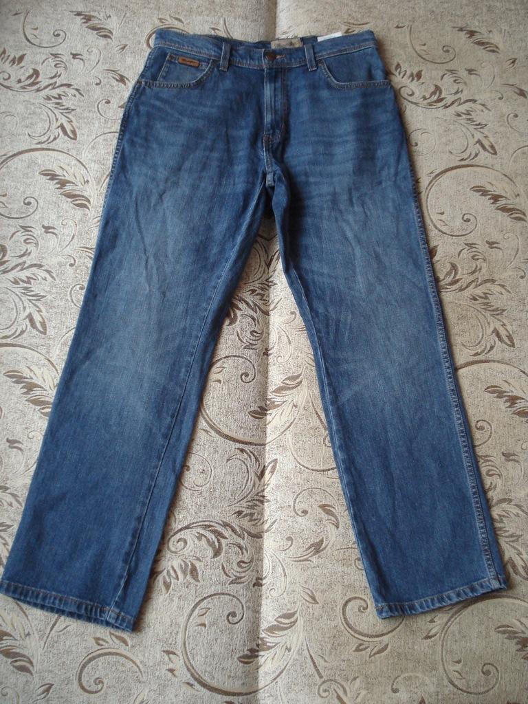 Spodnie Wrangler Greensboro W32 L30 pas 84-88