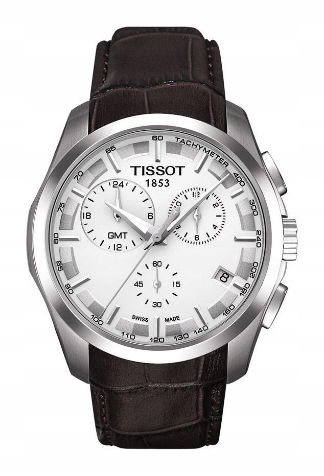 Zegarek Tissot, T035.439.16.031.00, COUTURIER GMT